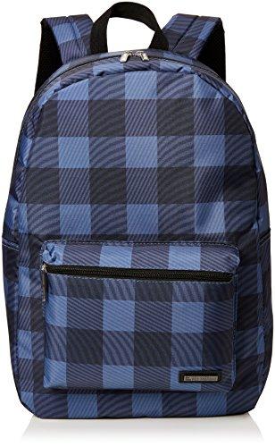 (Ben Sherman Backpack, Blue (Warped Gingham))