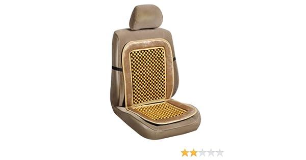 20-2699BLK Black Velour Beaded Seat Cushion Allison
