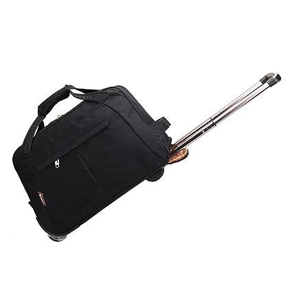 e0061fd7409a Amazon.com: Minmin-lgx 20 Inch Luggage Rolling Duffle Trolley Travel ...