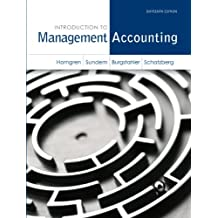 Amazon charles t horngren managerial accounting books introduction to management accounting 16th edition fandeluxe Choice Image