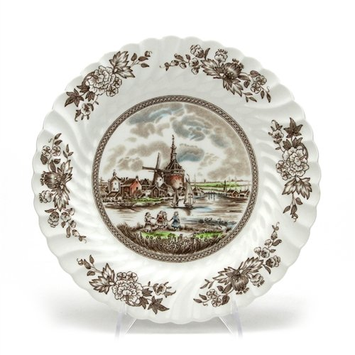 Tulip Time by Johnson Brothers, China Dinner Plate (Johnson Tulip Brothers)