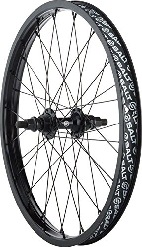 Salt Rookie Rear Wheel 20 36h 14mm Axle Black