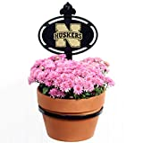 Henson Metal Works University of Nebraska Collegiate Logo Wall Mounted Flower Pot Holder