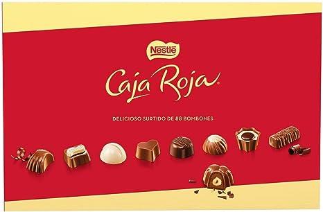 NESTLÉ CAJA ROJA Bombones de Chocolate - Estcuche de bombones 800 g: Amazon.es: Alimentación y bebidas