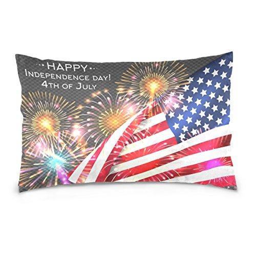 Top Carpenter Independence Day Poster Velvet Oblong Lumbar P