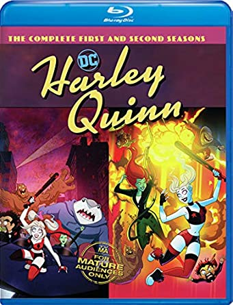 Poster. Harley Quinn: The Complete First and Second Seasons