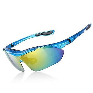 Y-YT Gafas de Deporte Deportes al Aire Libre Montando Gafas polarizadas contra Viento de