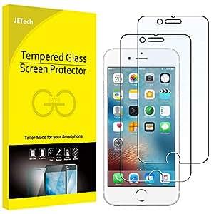 JETech 0803- 2 Unidades Protector de Pantalla para iPhone 6s iPhone 6 4,7 Vidrio Templado
