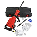 ZENY Electric Demolition Jack hammer 2200W Concrete Breaker w/ Point Flat Chisels & Case Heavy Duty