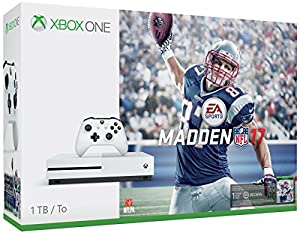 Xbox One S 1TB Console - Madden NFL 17 Bundle