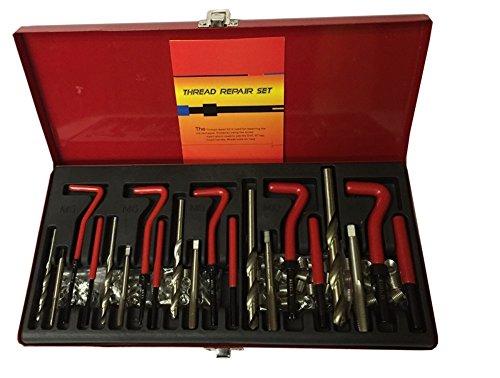 DZ Sales Thread Repair Kit M5, M6, M8, M10, M12 by DZ Sales (Image #1)