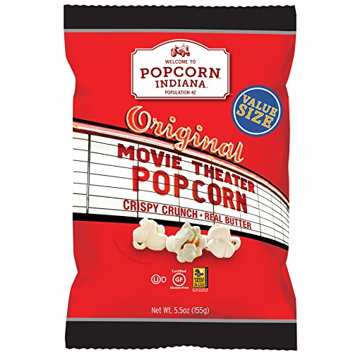 Popcorn Indiana Popcorn, Original Movie Theater , 5.5 Ounce  (Pack of 6)