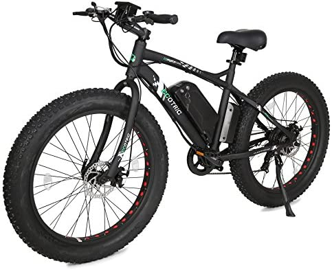 ECOTRIC 26 Fat Bike Tire Wheel Men Snow Beach Mountain Electric Bicycle 500W Electric Moped