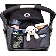 Deluxe Stroller Organizer | Universal Fit Two Insulated Cup Holders