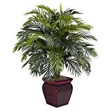 Wholesale Areca w/Decorative Planter Silk Plant, [Decor, Silk Flowers]