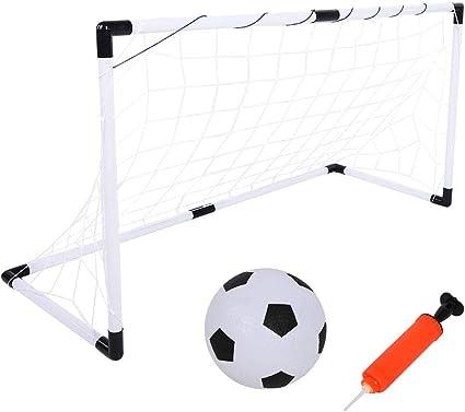 Messi Training System 2x kleines faltbares Tor 2er Set Fußballtor mit Netz Ball
