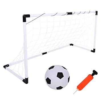 Alomejor Kids Football Goals Fútbol para niños Goal Post Net con ...