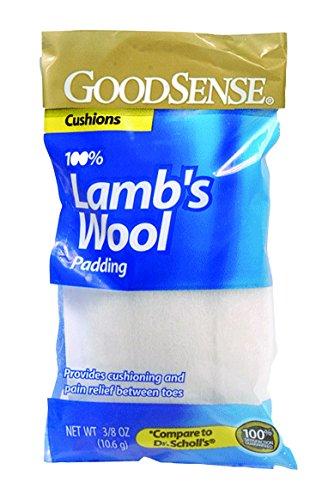 Lamb's Wool Padding, 3/8 oz Bag