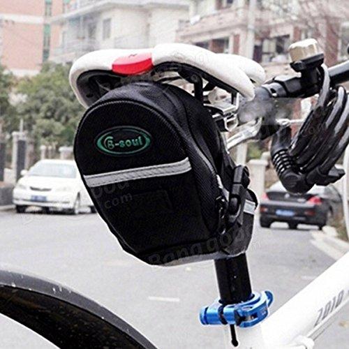 Moppi Ciclismo asiento deportivo paquete moto sillín trasero bolsa tija cola de maletas