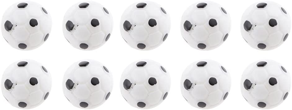 10pcs 1:12 Casa de Muñeca Balones de Fútbol Miniatura Decoración ...