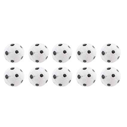 Amazon.com  MagiDeal Pack of 10pcs 1 12 Scale Football Soccer Balls Dolls  House Miniature Accessories  Toys   Games 8f3488bb28a0