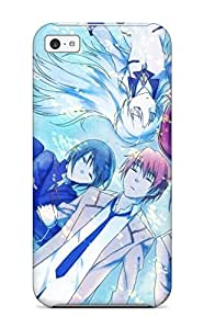 Hot Faddish Phone Angel Beats Case For ipod touch4 / Perfect Case Cover