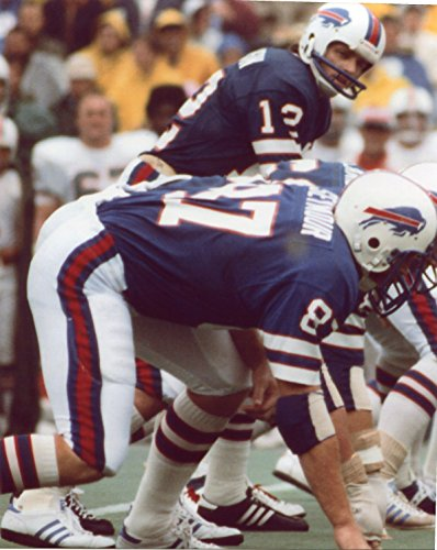 PAUL SEYMOUR-JOE FERGUSON BUFFALO BILLS 8X10 SPORTS ACTION PHOTO - Buffalo Paul Seymour