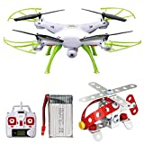 ToyPark RC Quadcopter, Mini Remote Control Drone with Headless Mode Helicopter Easy to Fly for Beginners