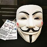 Hacker Mask for Costume Kids - 2 Pack White
