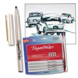 Speedball Elegant Writer 4 Calligraphy Marker Instructional Set