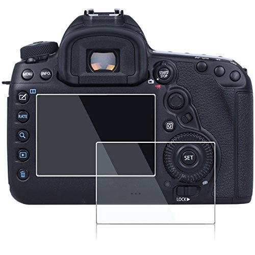 Screen Protector for Canon Eos 5d Mark IV MK IV 5D 4,debous Clear Optical Hard Tempered Glass LCD Screen Protective (2pack)