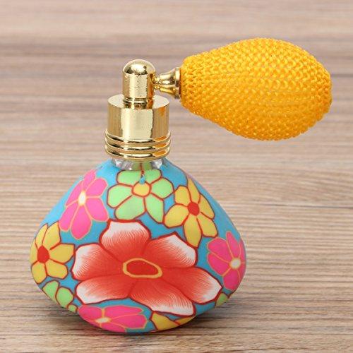 Amazon.com: Airbag atomizador de perfume spray Botella Flor ...