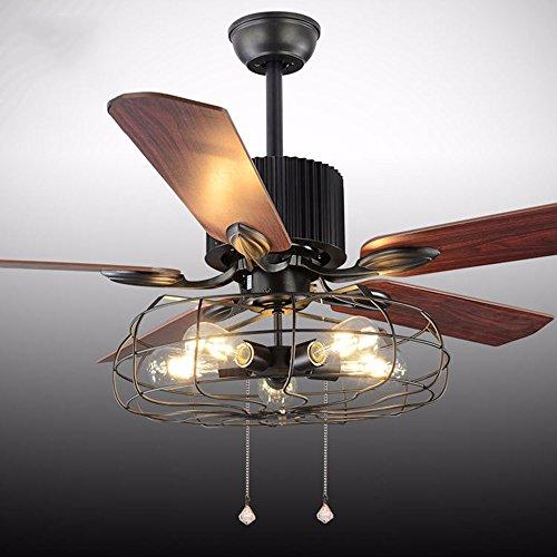 Outdoor 48 Inch Rubbed Bronze 2 Light Ceiling Fan - 5