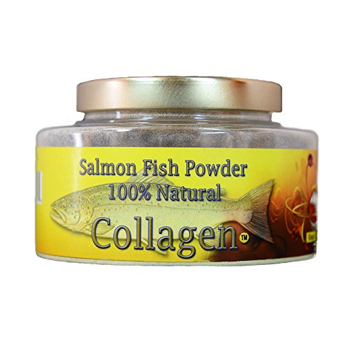 SALCOLL COLLAGEN Salmon Collagen Powder - Organic Collagen for Joint Pain Rheumatoid Arthritis & Osteoporosis - Aids Tissue Cartilage & Bone Regeneration for Extra Energy Mobility & Vitality - 3.69 Oz by Salcoll Collagen