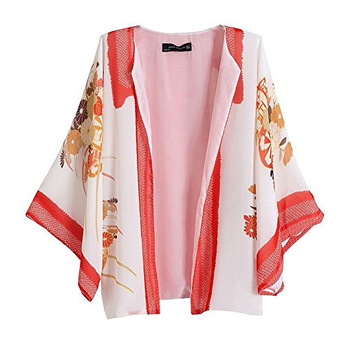 Pinkyee - Camisón - para mujer Pattern Color