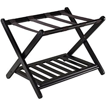 Amazon.com: Winsome Wood Luggage Rack, Espresso: Kitchen & Dining
