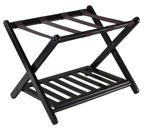 - Winsome 92436  Luggage Rack with Shelf