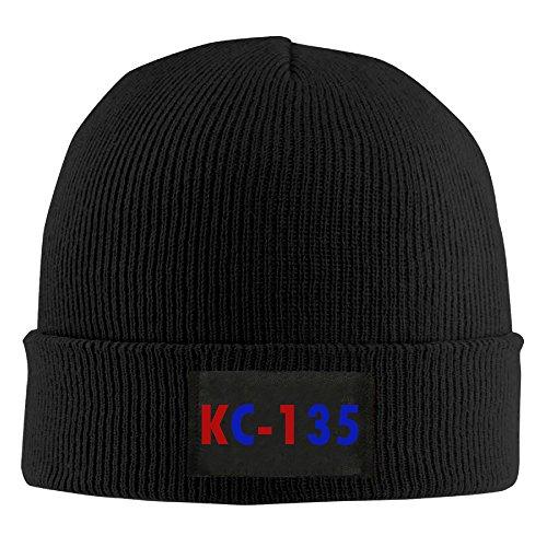 [USAF 'KC-135' Stretchable Black Winter Skull Hat] (Usaf Kc 135)