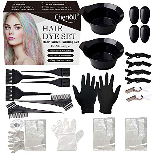 🥇 Juego de brochas de coloración para el pelo