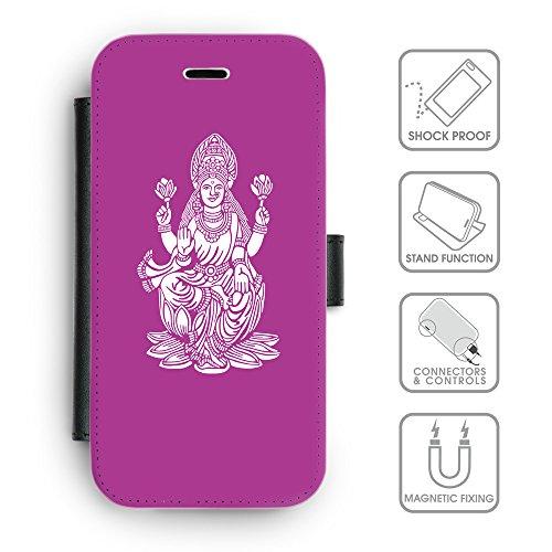 Flip PU Leather Wallet Case avec des fentes de carte de crédit // Q09540621 Hindou 8 byzantin // apple iphone 7 2016