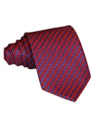 Professional Necktie Mens Classic Stripe Medium Tie 36 Different Patterns (As the picture show A-S-027)