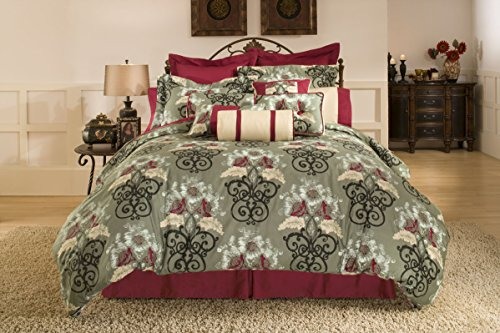 Pointehaven 3-Piece Coronado Duvet Set, King/California King - Coronado Comforter