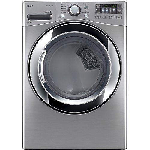 Price comparison product image LG DLEX3370V 7.4 cu. ft. Electric Dryer with 10 Drying Cycles,  TrueSteam Technology,  Energy Star Rated,  in Graphite Steel.
