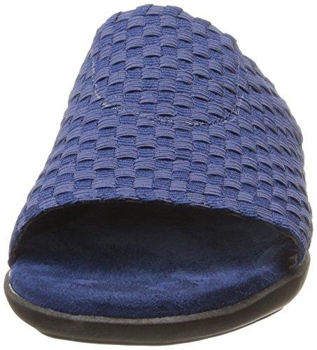 Aerosoles Womens Cake Badder Wedge Sandal Blue XPOekAKJ