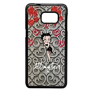 Samsung Galaxy Note 5 Edge Phone Case Black Betty Boop VKL3077820
