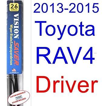 Amazon.com: 2013-2015 Toyota RAV4 Wiper Blade (Driver) (Saver ...
