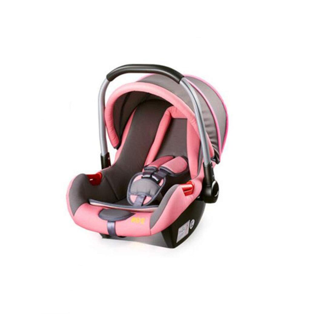 Crib Basket Cradle Child Cradle Multifunction Cradle Baby Products give Your Child a Comfortable Sleeping Environment (Color : Pink) by GHGJU