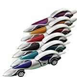 KitMax (TM) Pack of 12 Pcs Cute Cool Racing Car Shape Personalized Promotional Ballpoint Pens Office School Supplies Students Children Gift