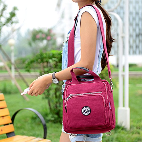 Daypack Messenger Waterproof Casual Bag Fashion for Cross Handbag Women Bag Bag Satchel Sport MeCooler Body Travel Backpack Lightweight Shoulder Purple t0qwvnEz7