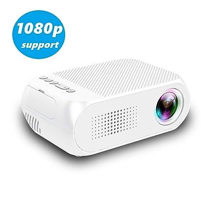 Cxz El proyector casero portátil Mini HD, Ultra HD + 1920 x ...